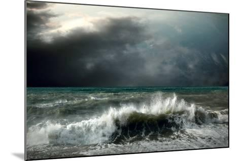 View of Storm Seascape-yuran-78-Mounted Photographic Print