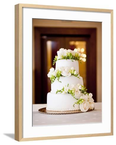Wedding Cake-HalfPoint-Framed Art Print