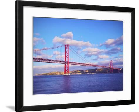 Bridge in Lisbon-Karol Kozlowski-Framed Art Print