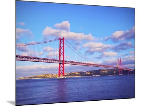 Bridge in Lisbon-Karol Kozlowski-Mounted Photographic Print