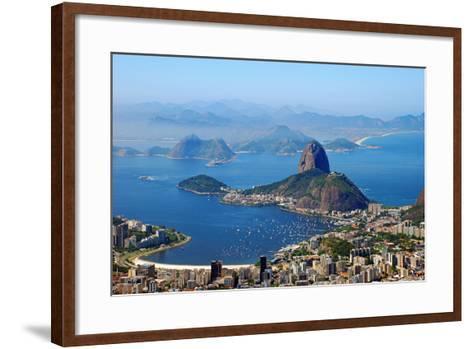 Sugar Loaf - Rio De Janeiro-BrunoFerreira-Framed Art Print