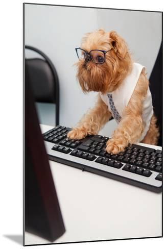 Dog Manager-Okssi-Mounted Photographic Print