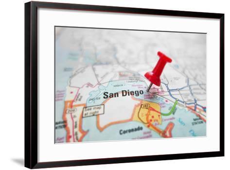 San Diego-zimmytws-Framed Art Print