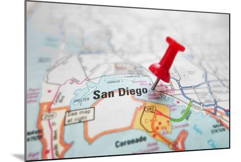 San Diego-zimmytws-Mounted Photographic Print