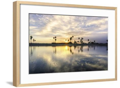 Mission Bay, San Diego, California-f8grapher-Framed Art Print