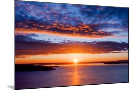 Sunset over Puget Sound, Seattle-kwest19-Mounted Photographic Print