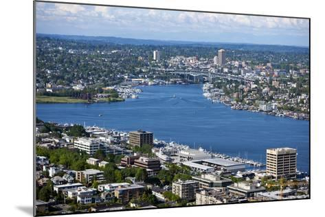 View of Puget Sound from Space Needle-Nosnibor137-Mounted Photographic Print
