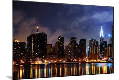 New York City Skyline-kyledover-Mounted Photographic Print