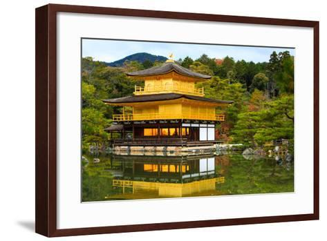 Golden Pavilion- MatthewFoto-Framed Art Print