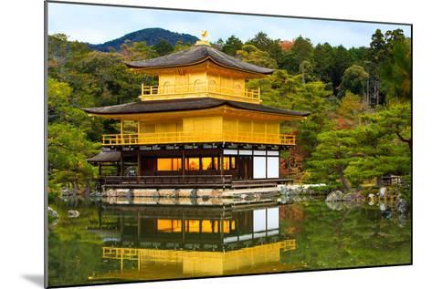 Golden Pavilion- MatthewFoto-Mounted Photographic Print
