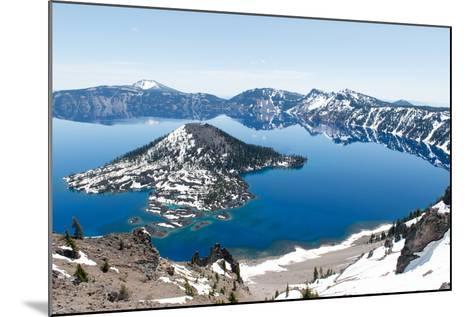 Crater Lake National Park, Oregon-demerzel21-Mounted Photographic Print