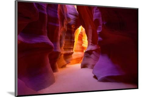 Arizona Antelope Canyon on Navajo Land Near Page USA-holbox-Mounted Photographic Print