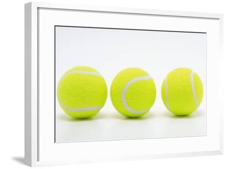 Tennis Balls-bao-Framed Art Print
