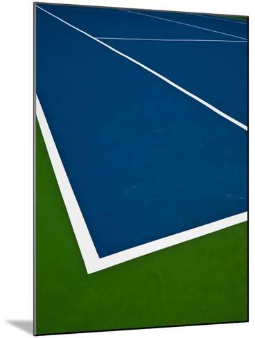 Tennis Court- photosquared-Mounted Photographic Print