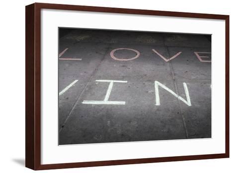 Love Wins-dendron-Framed Art Print