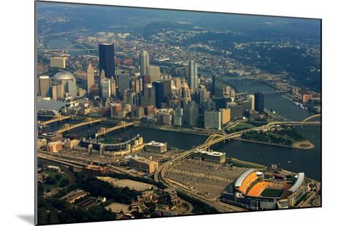 Pittsburgh Pennsylvania Aerial View-shutterrudder-Mounted Photographic Print