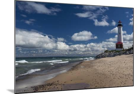 Crisp Point Lighthouse-johnsroad7-Mounted Photographic Print