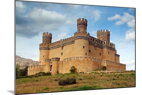 Madrid,  SPAIN - 20 Juny, 2009, Manzanares El Real Castle (Spain) Build in the 15Th. Century-TTstudio-Mounted Photographic Print