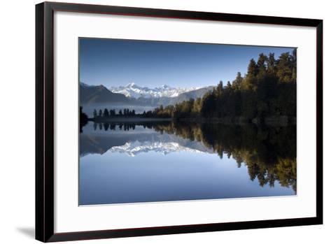 Lake Matheson, Mt Cook, New Zealand-PhotoImages-Framed Art Print