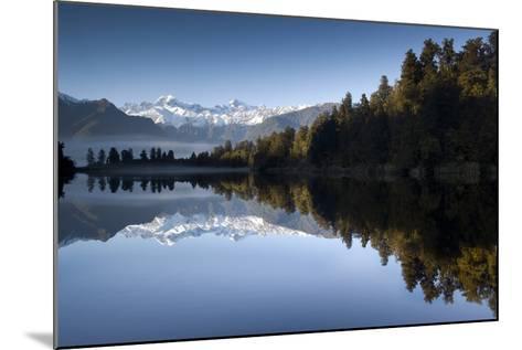 Lake Matheson, Mt Cook, New Zealand-PhotoImages-Mounted Photographic Print