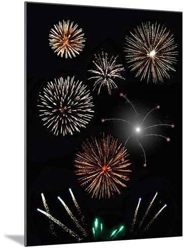 Fireworks-Pixelbliss-Mounted Photographic Print