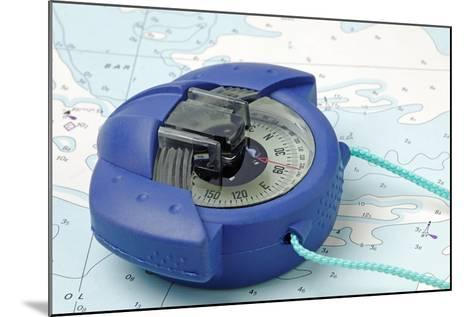 Hand Bearing Compass-roger ashford-Mounted Photographic Print