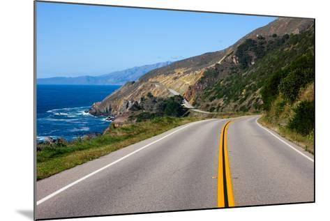 Highway through California Coast-Andy777-Mounted Photographic Print