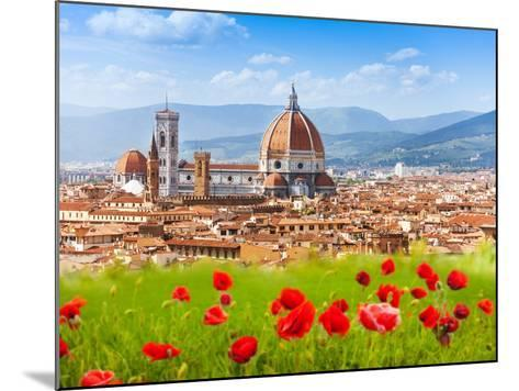 Florence, Duomo and Giotto's Campanile.-SerrNovik-Mounted Photographic Print