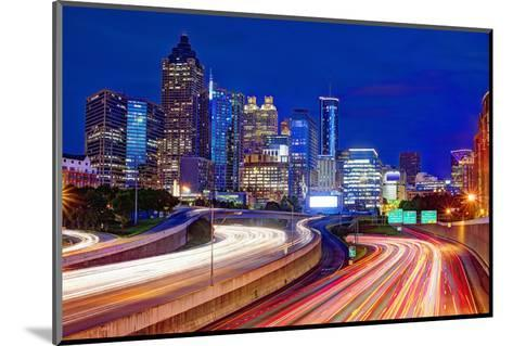 Downtown Atlanta, Georgia, USA Skyline.-SeanPavonePhoto-Mounted Photographic Print