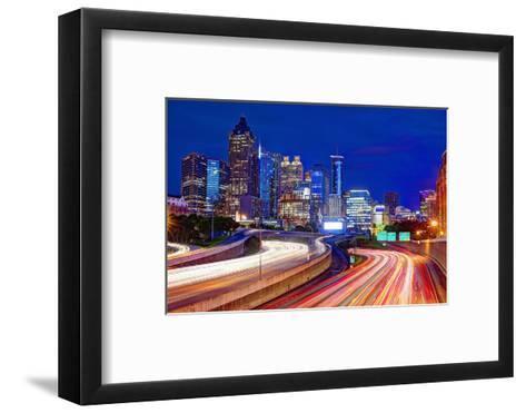 Downtown Atlanta, Georgia, USA Skyline.-SeanPavonePhoto-Framed Art Print