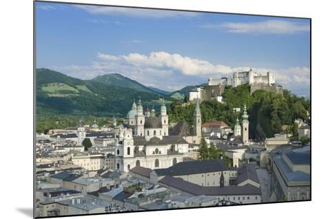 Salzburg City Historic Center with Cathedral-Peter Hermes Furian-Mounted Photographic Print
