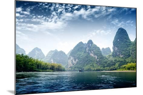 Guilin-liufuyu-Mounted Photographic Print