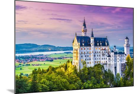 Neuschwanstein Castle in Germany.-SeanPavonePhoto-Mounted Photographic Print