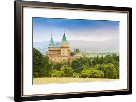 Beautiful Bojnice Castle-SerrNovik-Framed Art Print
