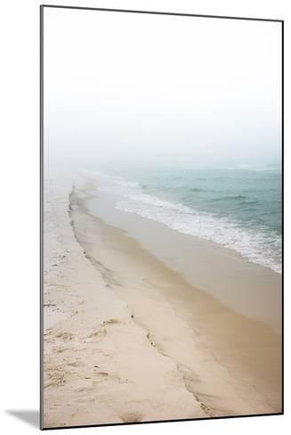 Foggy Dreamy Day at the Beach-forestpath-Mounted Photographic Print