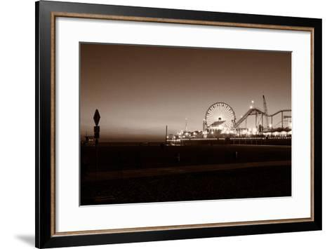 Santa Monica Pier-CelsoDiniz-Framed Art Print