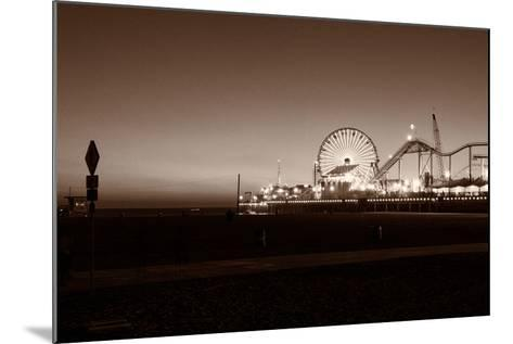Santa Monica Pier-CelsoDiniz-Mounted Photographic Print