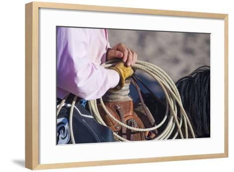 Cowboy-kobby_dagan-Framed Art Print