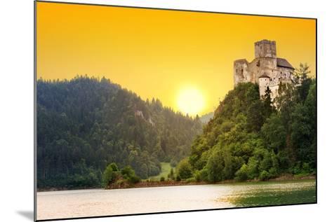Medieval Niedzica Castle at Czorsztyn Lake in Poland-Patryk Kosmider-Mounted Photographic Print