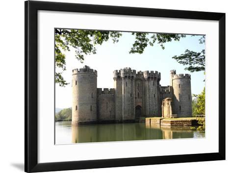Bodiam Castle-Tony Baggett-Framed Art Print