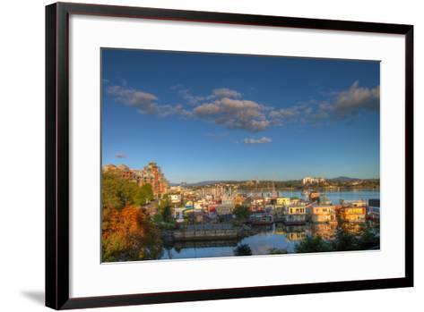 Victoria Bc Fisherman's Wharf-jpldesigns-Framed Art Print