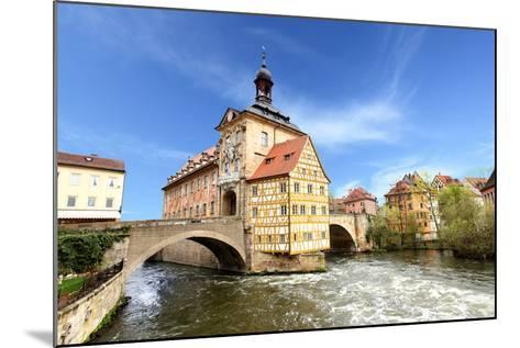 Town Hall on the Bridge, Bamberg, Germany-Zoom-zoom-Mounted Photographic Print