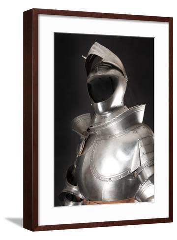 Armour-vis-Framed Art Print