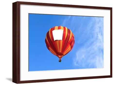 Hot Air Balloon-topseller-Framed Art Print