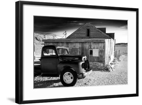Old Truck and General Store-Scott Prokop Photography-Framed Art Print