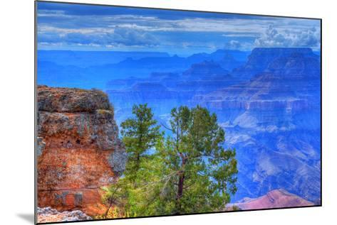 Grand Canyon Storm-diomedes66-Mounted Photographic Print
