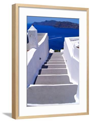 Greek Lane-Jeni Foto-Framed Art Print