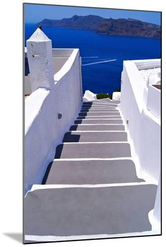 Greek Lane-Jeni Foto-Mounted Photographic Print