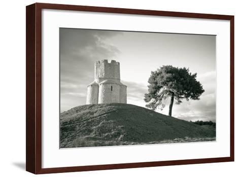 Dalmatian Stone Church on the Hill-xbrchx-Framed Art Print
