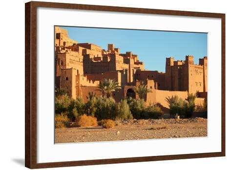 Ait Benhaddou is a Fortified City, or Ksar, along the Former Caravan Route between the Sahara and M-A_nella-Framed Art Print